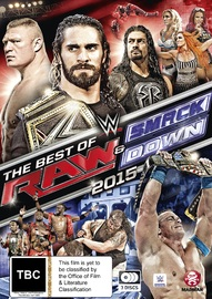 WWE: Best Of Raw & Smackdown 2015 on DVD