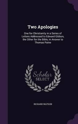 Two Apologies by Richard Watson image