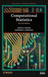 Computational Statistics by Geof H. Givens