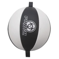 Punch: Urban Floor to Ceiling Punchball - (Black/White) image