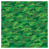 SKINZ: Camo Book Cover - Green (45cm x 1m) image