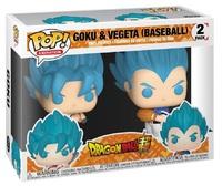 Dragon Ball Super – Goku & Vegeta (Baseball Uniforms) Pop! Vinyl 2-Pack image