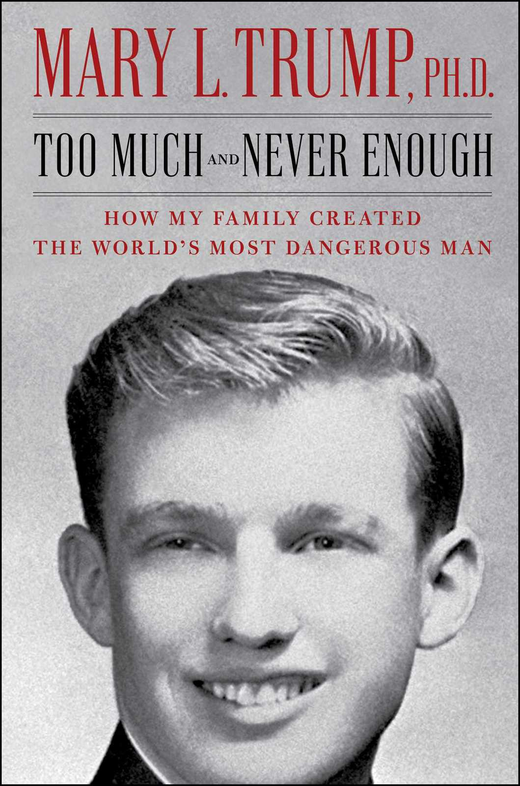 Too Much and Never Enough by Mary L. Trump image