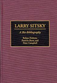 Larry Sitsky by Robyn F. Holmes image