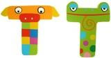 Tatiri Alphabet Letter Crazy Animal - T
