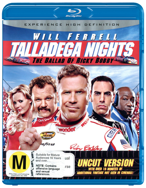Talladega Nights - The Ballad Of Ricky Bobby: Uncut Version on Blu-ray