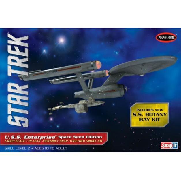 Star Trek U.S.S. Enterprise 1/1000 Snap Model Kitset