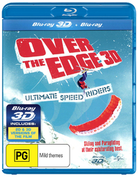 Over the Edge 3D on Blu-ray, 3D Blu-ray