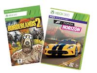 Borderlands 2 & Forza Horizon pack for X360