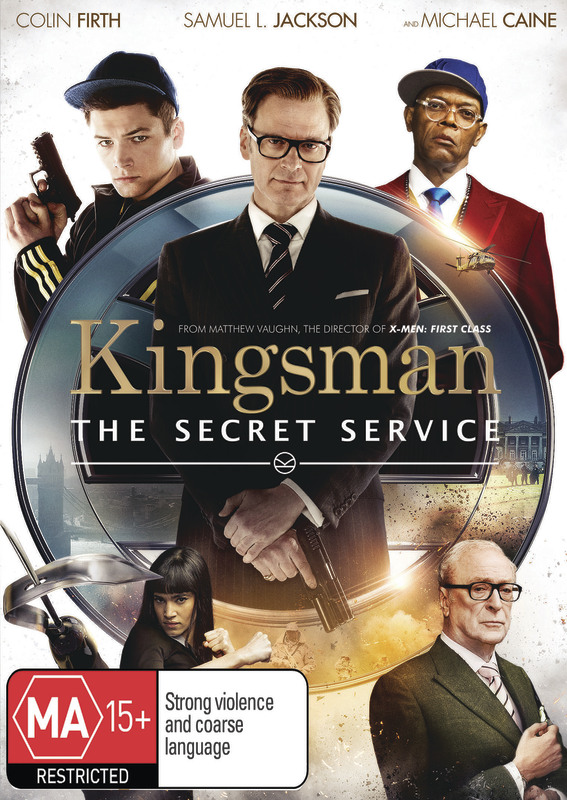 Kingsman: The Secret Service on DVD