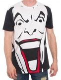 Batman - Joker Black and White T-Shirt - Large