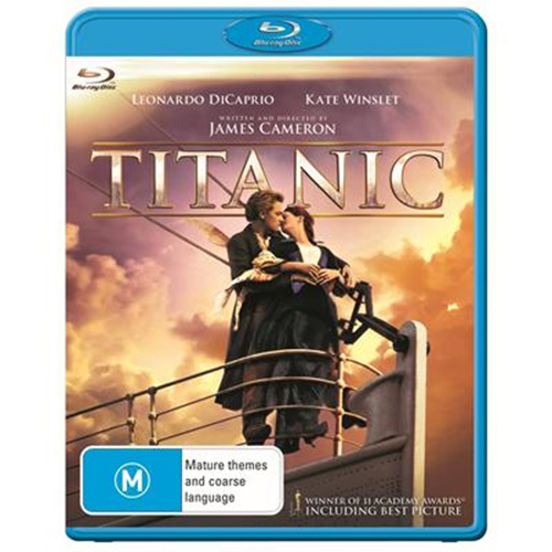 Titanic on Blu-ray image
