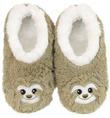 Slumbies Sloth Furry Foot Pals Slippers (S)
