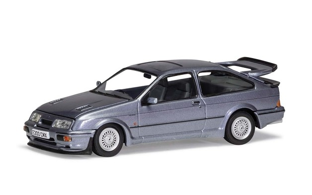 Corgi 1/43 Sierra RS500 Cosworth:Blu Diecast Model