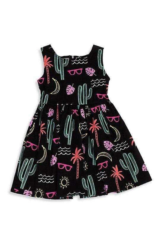 Retrolicious: Summer Fun Kids Dress - 6-7