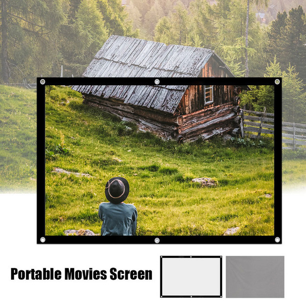 Portable Projector Screen - 133 x 75cm