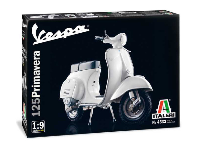 "Italeri: 1/9 Vespa 125 ""Primavera"" - Model Kit"