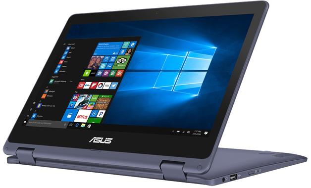 """11.6"""" ASUS Pentium 4GB 64GB VivoBook Flip 12 Notebook"""
