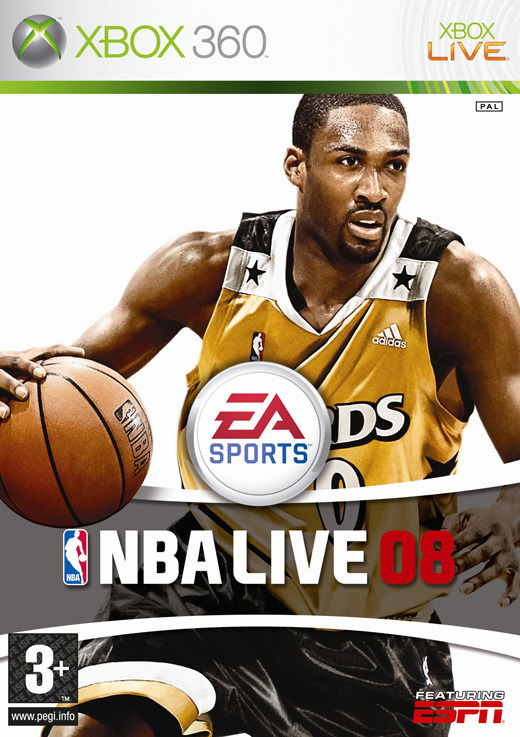 NBA Live 08 for Xbox 360