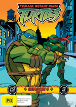 Teenage Mutant Ninja Turtles (2003) - Season 4: Box 1 (3 Disc Box Set) on DVD