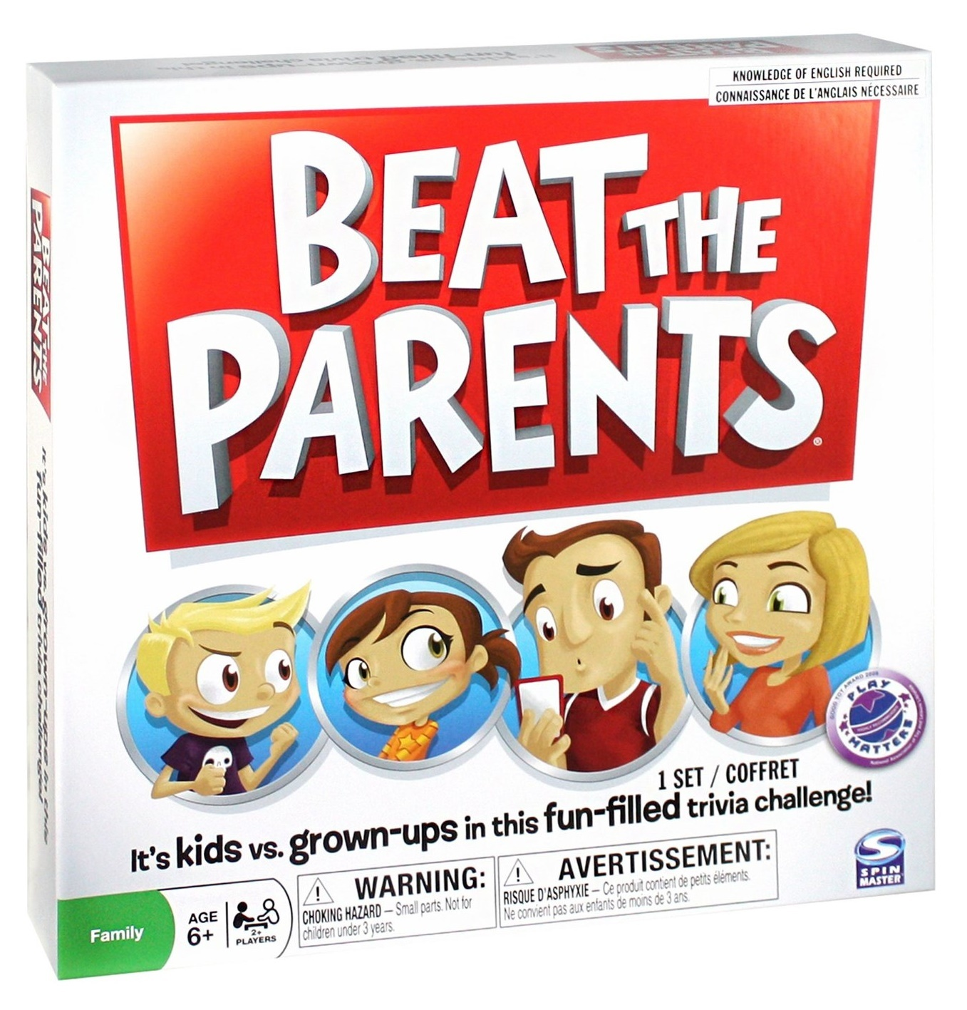 Beat The Parents - Board Game image