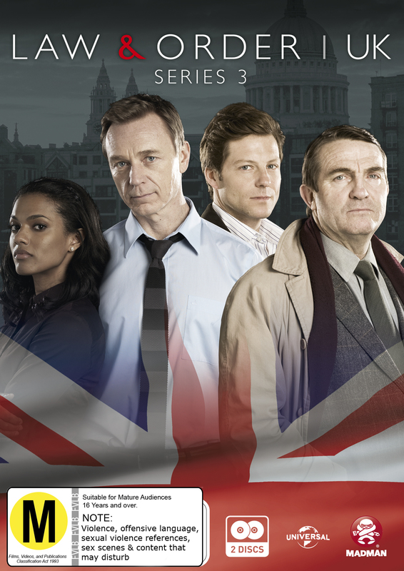 Law & Order UK: (Series 3) on DVD