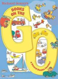 Richard Scarry's Books On The Go Board Books by Richard Scarry