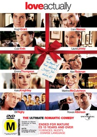 Love Actually on DVD image