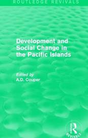 : Development and Social Change in the Pacific Islands (1989) image