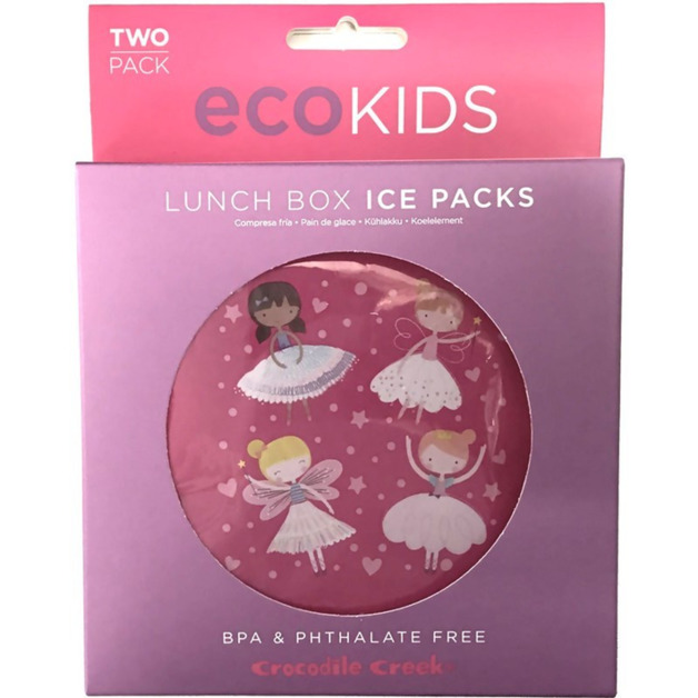 Crocodile Creek Ice Pack - Dancers and Dreams (Set of 2)