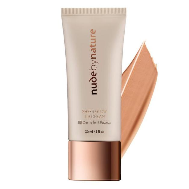 Nude by Nature Sheer Glow BB Cream - #04 Natural Tan (30ml)