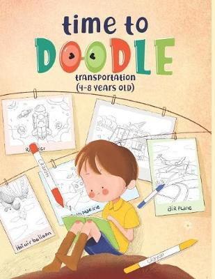 Time to Doodle by Yellow Pencils Coloring Books