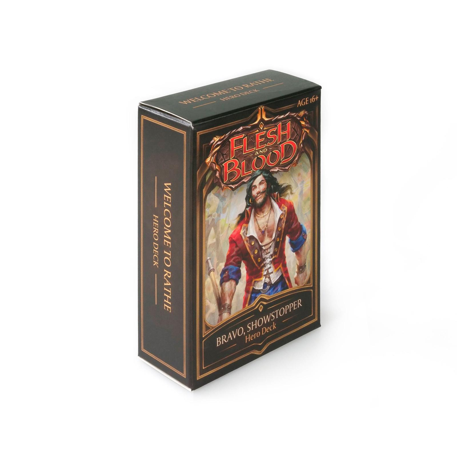 Flesh and Blood TCG: Welcome to Rathe Hero Deck- Bravo image