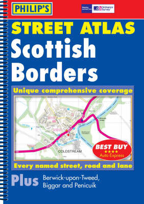 Scottish Borders Street Atlas image