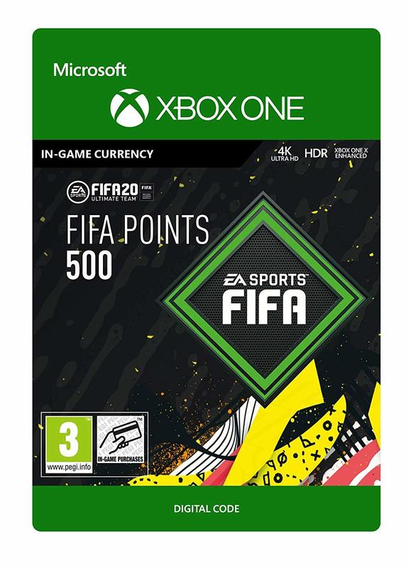 FIFA 20 Ultimate Team - 500 FIFA Points for Xbox One (Digital Code) for Xbox One