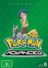 Pokemon Advanced - Season 6 on DVD