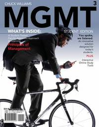 Mgmt 2010 Edition (with Review Cards and Bind-In Printed Access Card) by Chuck Williams image
