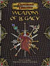 Dungeons & Dragons: Weapons of Legacy by Bruce R. Cordell image