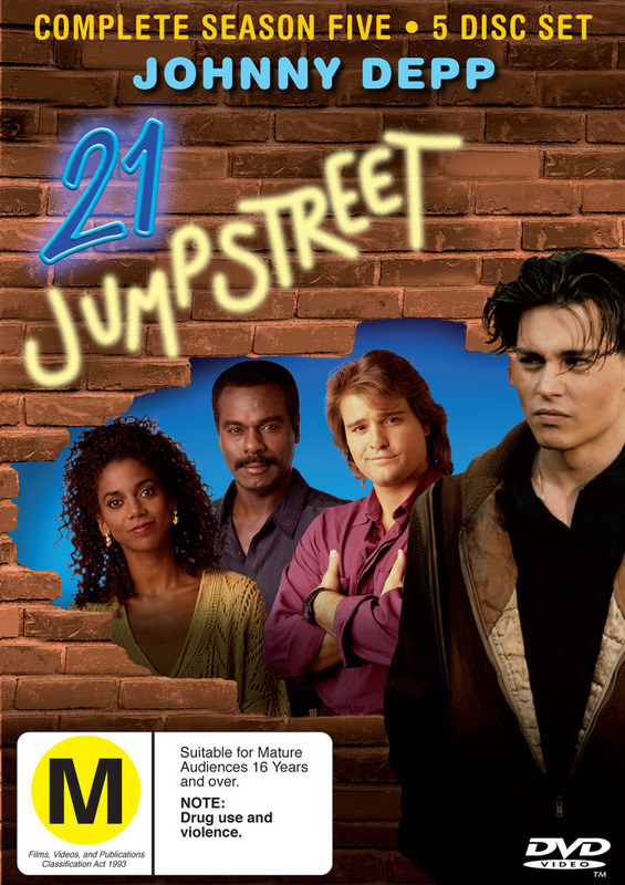 21 Jump Street - Complete Season 5 (5 Disc Set) on DVD
