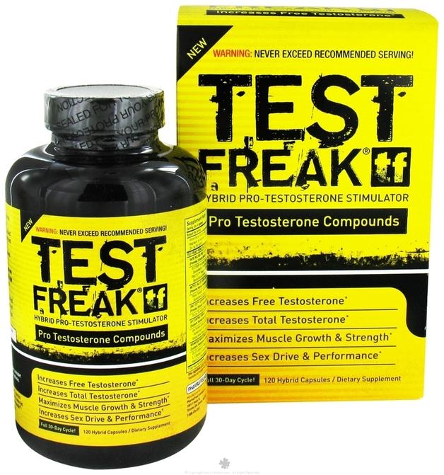 Pharma Freak Test Freak - 120 Capsules