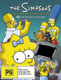 The Simpsons - The Complete Eighth Season on DVD