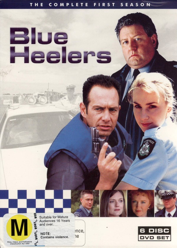 Blue Heelers - Season 1 (6 Disc) on DVD image