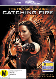The Hunger Games: Catching Fire on DVD