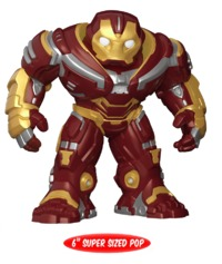 "Avengers: Infinity War - Hulkbuster 6"" Pop! Vinyl Figure"