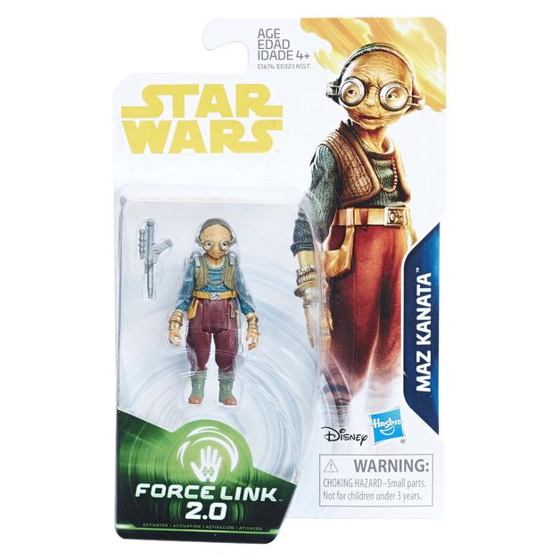 Star War: Force Link 2.0 Figure - Maz Kanata