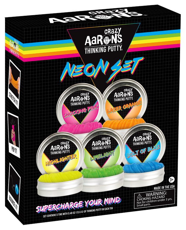 Crazy Aarons: Thinking Putty - Neon Set