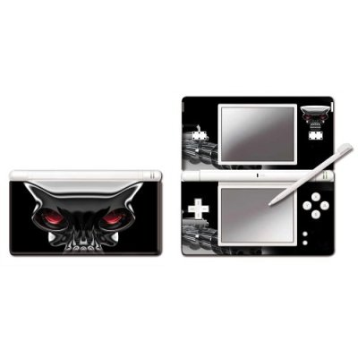 Nintendo DS Lite Modding Skin - Metal Skull for Nintendo DS image