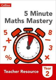 5 Minute Maths Mastery Book 2 by Collins image