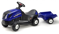 Falk: New Holland Baby Tractor - With Trailer image