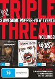 WWE Triple Threat Pack - Elimation Chamber 2010, Extreme Rules 2010, Over The Limit (3 Disc Set) DVD